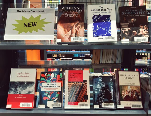 New books at LUX Library